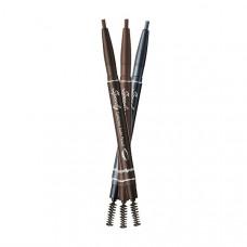Авто-карандаш для бровей PERIPERA SPEED BROW AUTO PENCIL, 0.14 г. - 001 черно-коричневый
