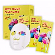 Маска для лица с лимоном Candy O'Lady Sweet Lemon Candy Mask