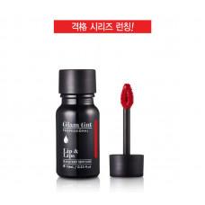Тинтованное покрытие для губ MACQUEEN Glam tint Lip&Lips 02 оранжево-красный