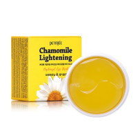 Набор патчей д/век гидрогел. РОМАШКА PETITFEE Chamomile Lightening Hydrogel Eye Mask, 60 шт