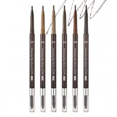 Ультра-тонкий карандаш для бровей - 1.5 мм Etude House Drawing Slim Eyebrow - №3 светло-коричневый