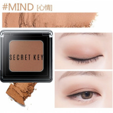 Тени для век моно Secret Key Fitting Forever Single Shadow_#Mind(Natural Peach), 3,8гр