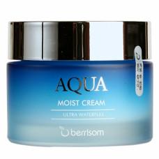 Крем для лица увлажняющий Berrisom Aqua Moist Cream, 50гр