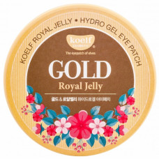 Гидрогелевый патч для век и проблемных зон с золотом и маточным молоком KOELF Gold & Royal Jelly