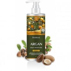 Шампунь для волос с аргановым маслом DEOPROCE SHAMPOO - ARGAN SILKY MOISTURE