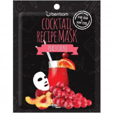 Маска для лица Berrisom Cocktail Recipe Mask - Peach Crush, 20 гр