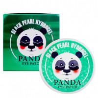 Гидрогелевые патчи для кожи вокруг глаз White Organia Black Pearl Hydrogel Panda Eye Patch 60шт.