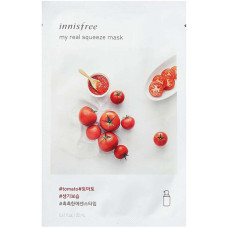 Тканевая Маска для лица Innisfree Мy Real Squeeze Mask помидор, 20 мл
