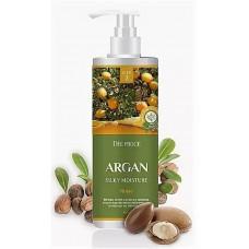 Бальзам для волос с аргановым маслом DEOPROCE RINSE - ARGAN SILKY MOISTURE