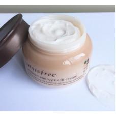 Крем для шеи и области декольте на основе соевых бобов Innisfree Soybean energy neck cream