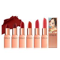 Кремовая помада для губ Style71 Jewelry Rouge Cream Lipstick, No.S8