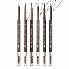 Ультра-тонкий карандаш для бровей - 1.5 мм Etude House Drawing Slim Eyebrow - №6 черный