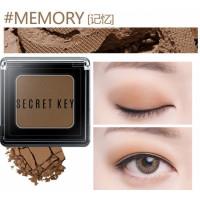Тени для век моно Secret Key Fitting Forever Single Shadow #Memory (Warm Brown), 3,8гр