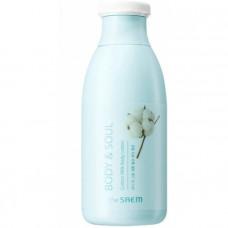 Гель для душа молочный The Saem Body & Soul Cotton Milk Body Wash N2, 300мл