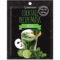 Маска для лица Berrisom Cocktail Recipe Mask - Mojito 20гр