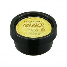 Маска-глина на основе лимона и имбиря придает упругость коже Nature Republic REAL NATURE CLAY MASK - GINGER LEMON