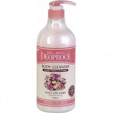 Гель для душа цветочный DEOPROCE WELL-BEING AROMA BODY CLEANSER 1000ml FLORAL