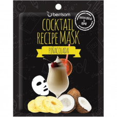 Маска для лица Berrisom Cocktail Recipe Mask - Pina Colada, 20гр