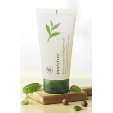 Скраб для тела с зеленым чаем Innisfree Green tea pure body gel scrub