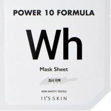 Маска для лица осветляющая It's Skin Power 10 Formula Wh Mask Sheet, 25 мл