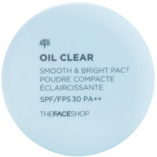 Пудра компактная The Face Shop Oil Clear Smooth&Bright Pact N203