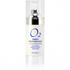 Маска кислородная для лица осветляющая DEOPROCE O2 BUBBLE BRIGHTENING MASK, 100мл