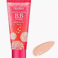 Крем ББ DEOPROCE WHITE FLOWER BB CREAM SPF35 PA+++ #21, 30гр
