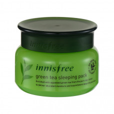 Ночная маска с зеленым чаем Innisfree Green tea sleeping pack