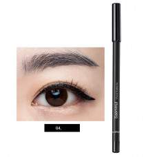 Карандаш для бровей 04 The Saem EYE Saemmul wood eyebrow 04.black