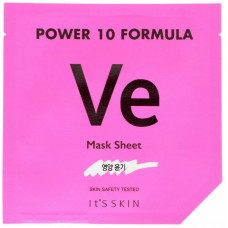 Маска для лица с витамином Е It's SkinPower 10 Formula Mask Sheet, VE