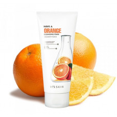 Осветляющая пенка для умывания с экстрактом апельсина It's Skin Have a Orange Cleansing Foam