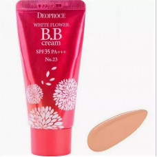 Крем ББ DEOPROCE WHITE FLOWER BB CREAM SPF35 PA+++ #23 30гр