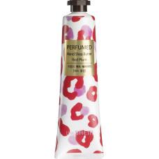 Парфюмированный крем для рук с маслом ши The Saem Perfumed Hand Shea Butter, 30 мл - слива