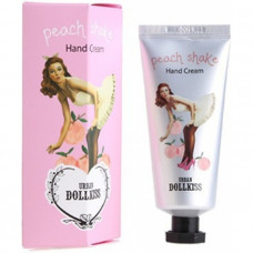 Персиковый крем для рук Baviphat Urban Dollkiss Peach Shake Hand Cream