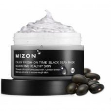 Маска для лица MIZON ENJOY FRESH-ON TIME [BLACK BEEN MASK], 100мл