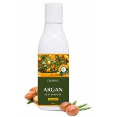 Шампунь для волос с аргановым маслом DEOPROCE ARGAN SILKY MOISTURE SHAMPOO, 200ml