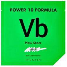 Маска для лица с витамином Б6 It's Skin Power 10 Formula Vb Mask Sheet, 25 мл