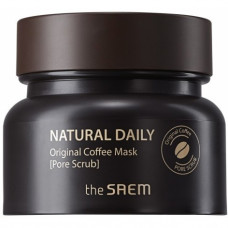 Маска для лица кофейная The Saem Natural Daily Original Coffee Mask, 100г
