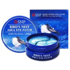 Патчи для век на основе ласточкиного гнезда Petitfee SNP Bird's Nest Aqua Eye Patch