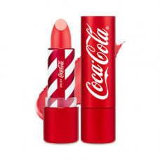 Помада для губ The Face Shop COCA-COLA LIPSTICK, 3.5 г. - 02 розовый персик