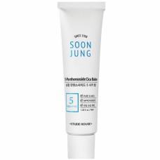Ночная маска для чувствительной кожи Etude House Soon Jung 5-Panthensoside Cica Balm, 100 мл