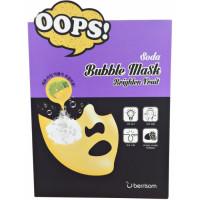 Маска-пилинг для сияния кожи Berrisom Soda Bubble Mask_Brighten Fruit