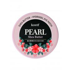 Гидрогелевый патч для век и проблемных зон с жемчугом и маслом Ши KOELF Pearl & Shae Butter Eye