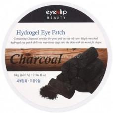 Патчи для глаз гидрогелевые EYENLIP CHARCOAL ACID HYDROGEL EYE PATCH, 84гр / 60шт