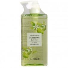 Гель для душа сладкий лайм The Saem TOUCH ON BODY Sweet Lime Body Wash, 300мл