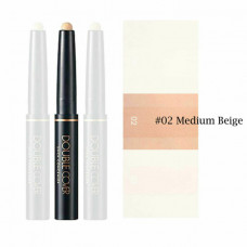 Консилер DOUBLE COVER STICK CONCEALER, оттенок 02 MEDIUM BEIGE, 1,5 гр
