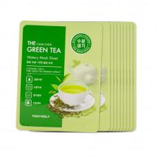 """Тканевая маска на основе экстракта зеленого чая TONY MOLY """"THE CHOK CHOK GREEN TEA MOISTURE MASK SHEET"""""""