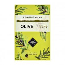 Маска для лица на основе оливы Etude House 0.2 Therapy Air Mask #Olive