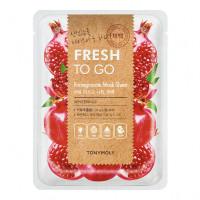 Тканевая маска с экстрактом граната Tony Moly Fresh To Go Pomegranate Mask Sheet, 22г