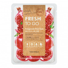 Тканевая маска с экстрактом граната Tony Moly Fresh To Go Pomegranate Mask Sheet, 22г
